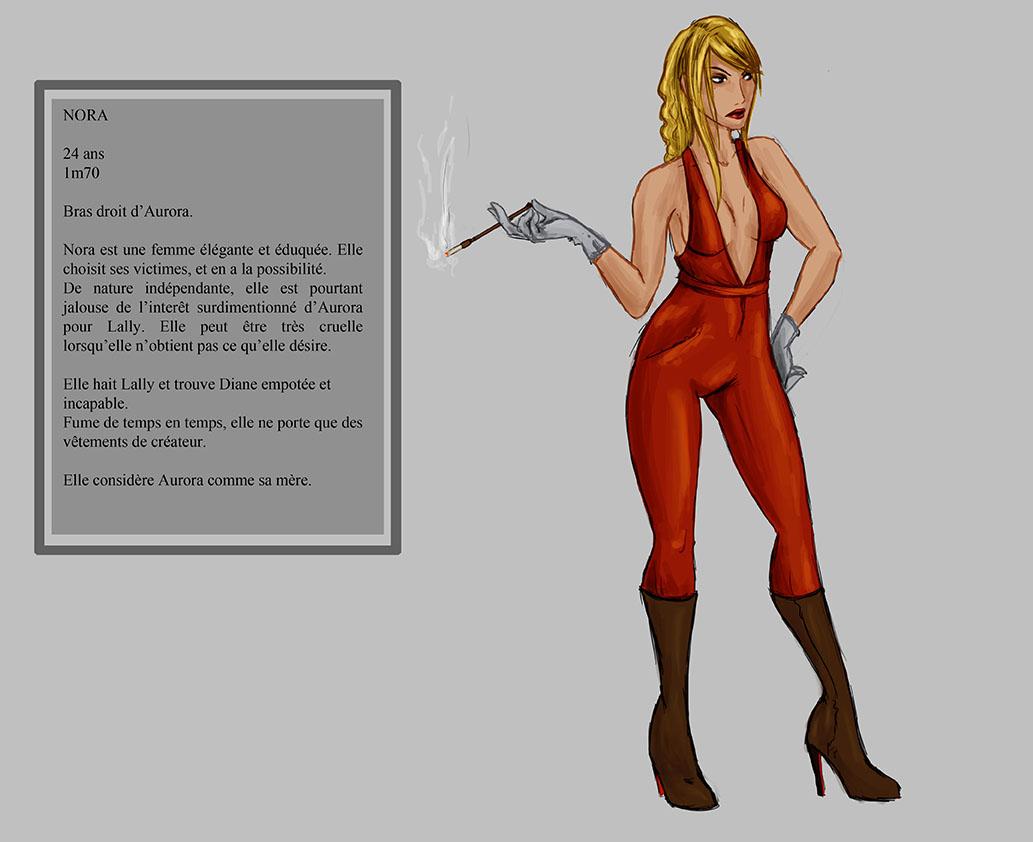 NORA - Character design