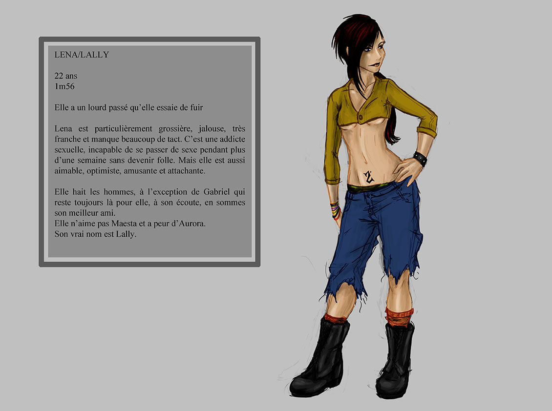 LENA - Character design