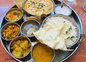 South Indian Thali - Paris