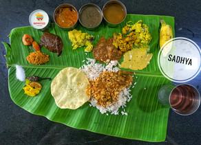 Sadhya - the Malayali vegetarian feast