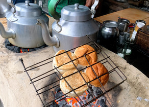 Breakfast in Benaras