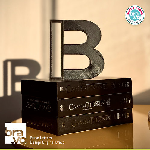 Bravo Letters BIG | 01 unidade