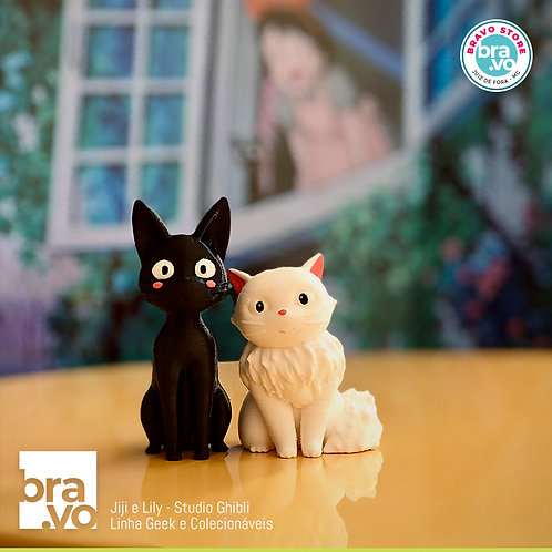 Jiji & Lily - Studio Ghibli