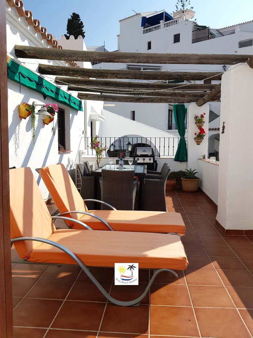 Capistrano Playa 708 - Terrace with sun loungers