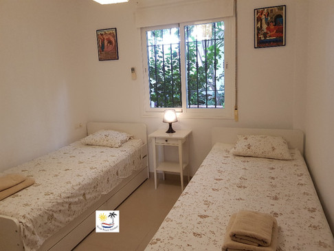 El Olivar - Twin bedroom