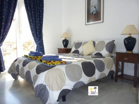 Villa Jossalan - Upstairs Bedroom