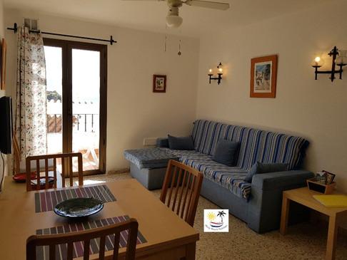 Capistrano Playa 202 - Lounge and Dining Area