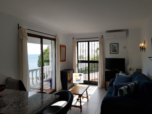 Capistrano Playa 200 - Lounge with sea view