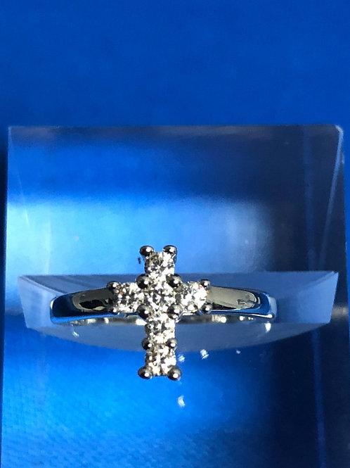 Petite Cross Ring