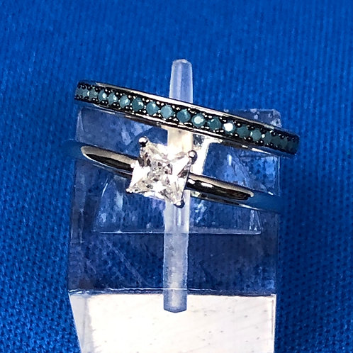Layered Turquoise Ring