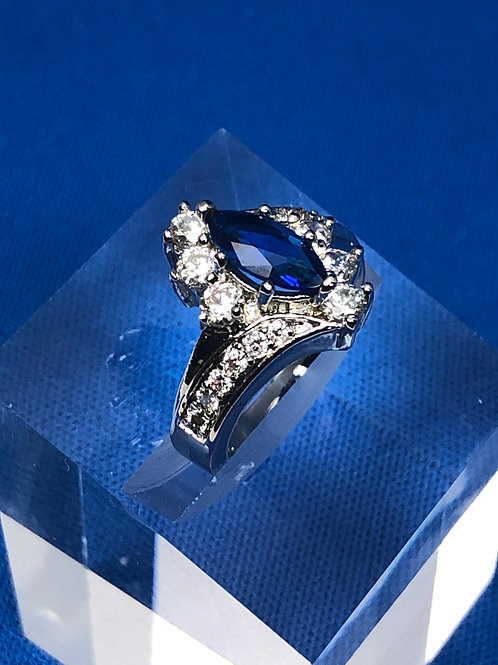 Sapphire Cocktail Ring