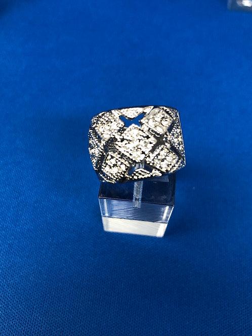 Diamond Pave Cocktail Ring