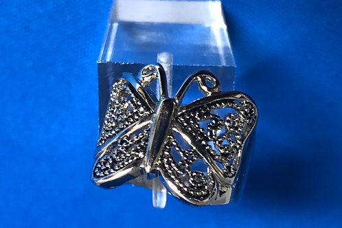 Filigree Butterfly Ring