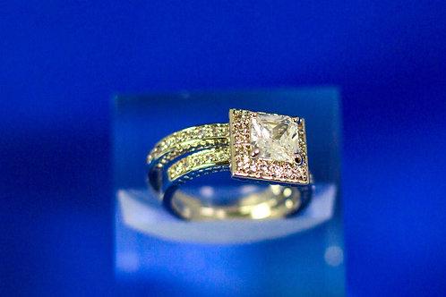 Princess Wedding Set (2 Rings)