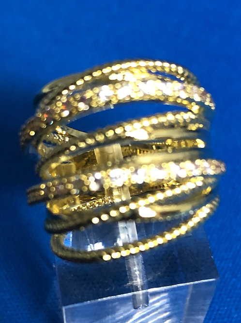 Gold Highway Ring