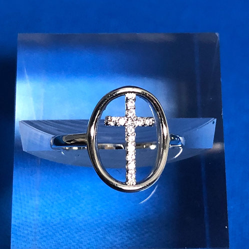 Circled Cross Ring