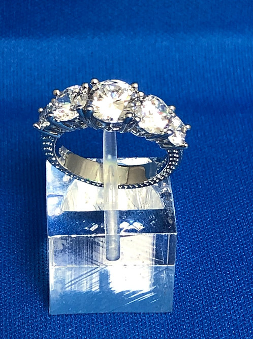 Classic Five-Stone Ring