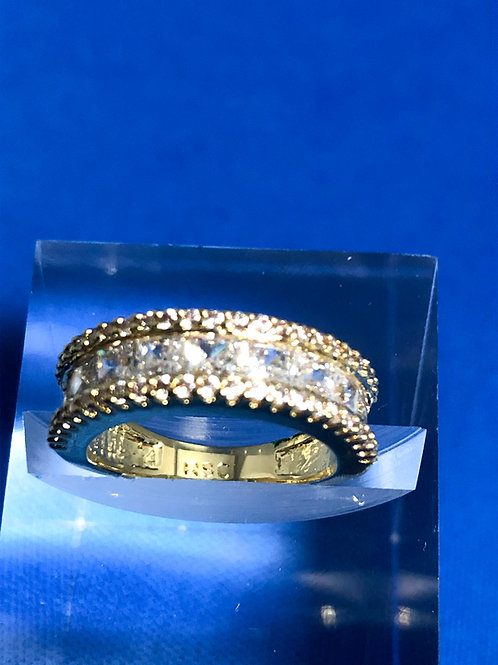 Gold Chanel Band Ring