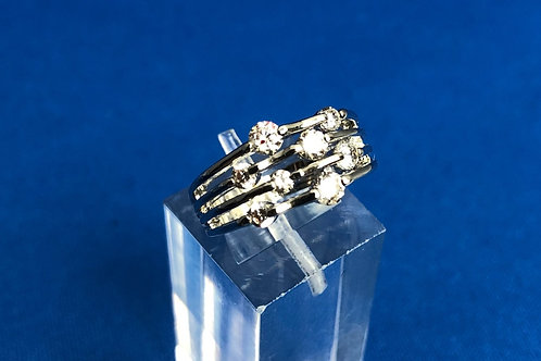 Four Row Galaxy Ring