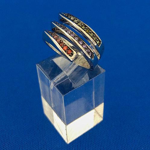 Triple Color Wrap Ring