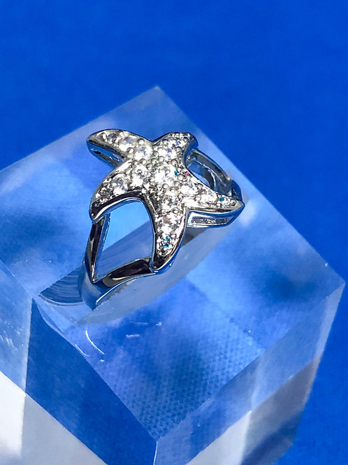 Open Shaft Starfish Ring