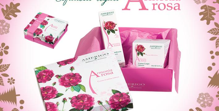 Cofanetto Regalo Armonia Rosa