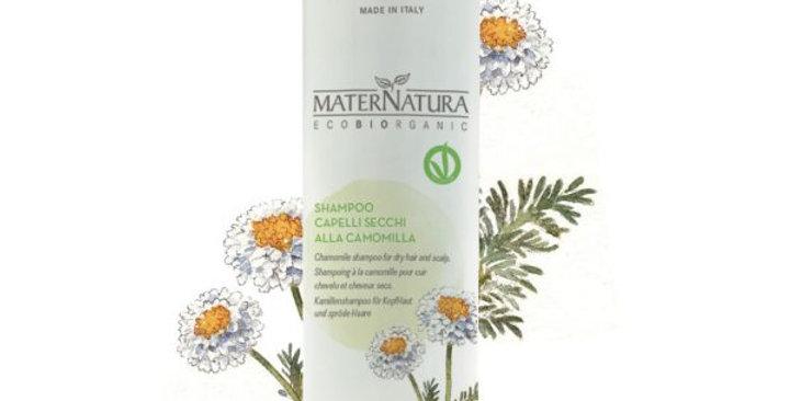 Shampoo cute e capelli secchi alla Camomilla - 250 ml
