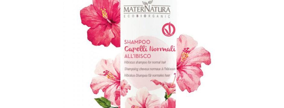 Shampoo Capelli Normali all'Ibisco