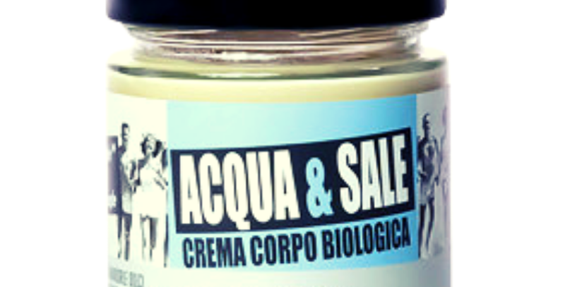 Crema Corpo Bio Acqua e Sale - 200 ml