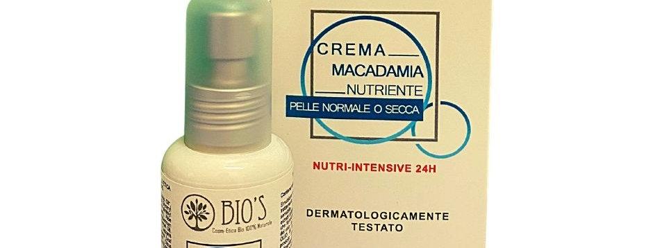 Crema Viso Nutriente con Macadamia - 50 ml