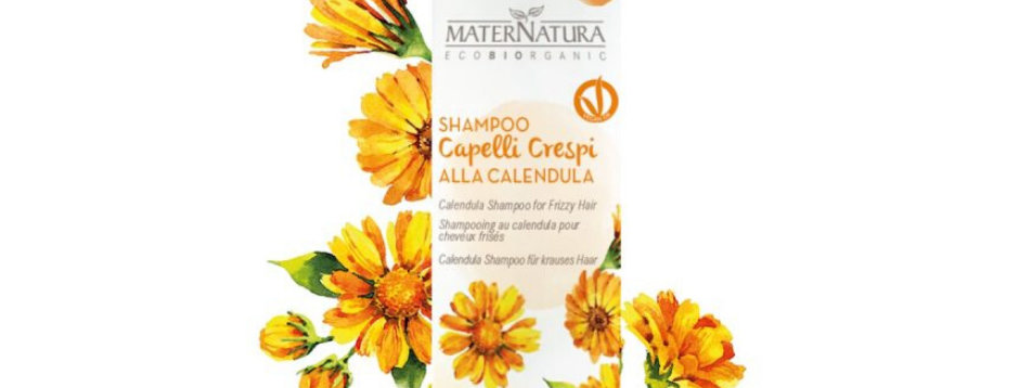 Shampoo per Capelli Crespi alla Calendula - 250 ml
