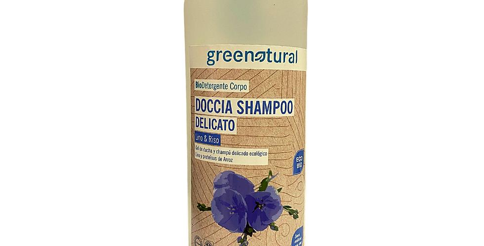 Doccia Shampoo Lino e Riso - 500 ml