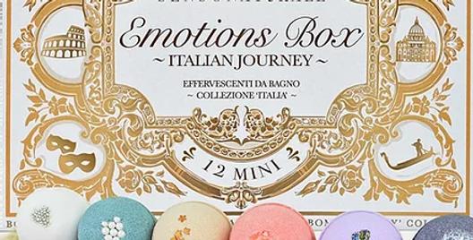 Emotion Box - Set Regalo con 12 Bombe Bagno