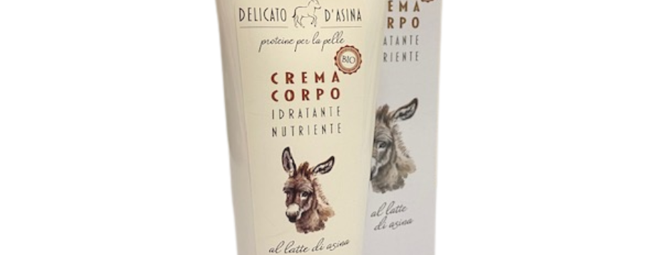 Crema Corpo Bio al Latte d'Asina - 200ml
