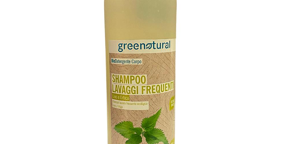 Shampoo Lavaggi Frequenti Lino e Ortica - 500 ml