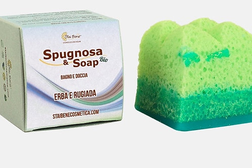 Spugnosa & Soap Bio - Erba e Rugiada - Agrumatissima