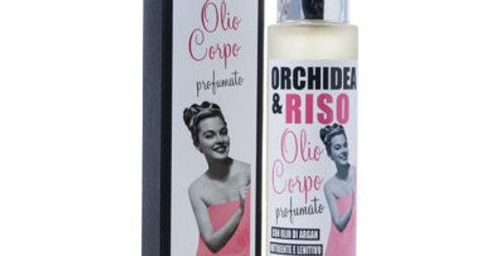 Olio Corpo profumato Riso e Orchidea - 100 ml