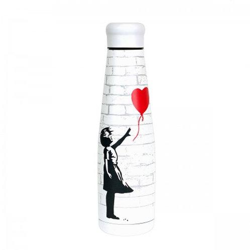 Bottiglia in Acciaio Inossidabile GIRL WITH BALLOON - 550 ml