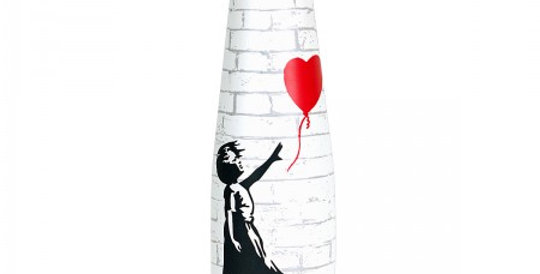 Bottiglia in Acciaio Inossidabile GIRL WITH BALLOON - 550 ml