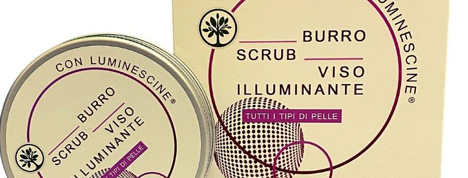 Burro Scrub Viso Illuminante - 100 ml