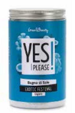 Bagno di Sale YES PLEASE - Exotic Festival - Purificante