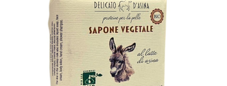 Saponetta al Latte d'Asina 100 gr.