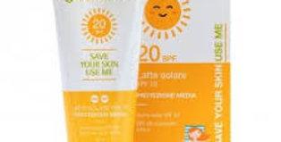 Latte Solare SPF20