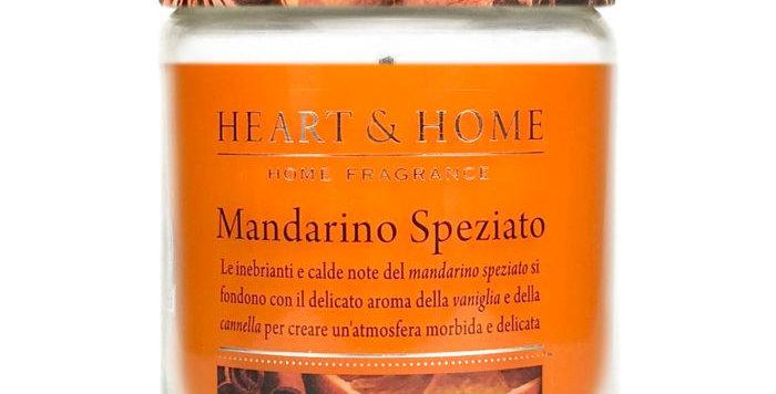 Candela in cera di soia - Mandarino Speziato - 340 gr.
