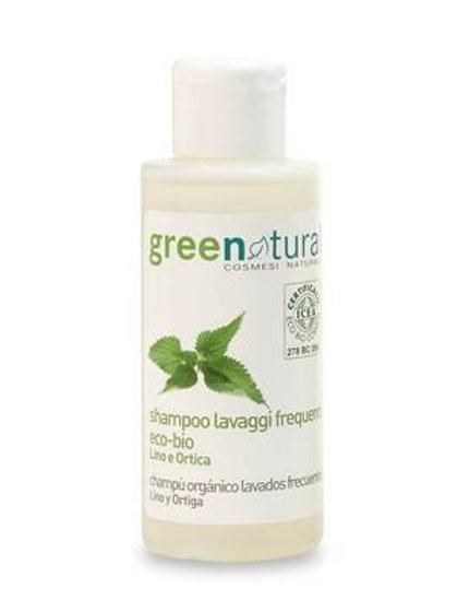 Shampoo Lavaggi Frequenti Lino e Ortica 100ml