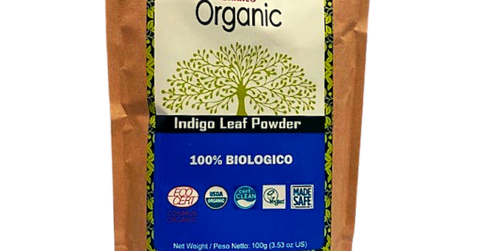 Polvere di foglie di Indigo - 100 gr