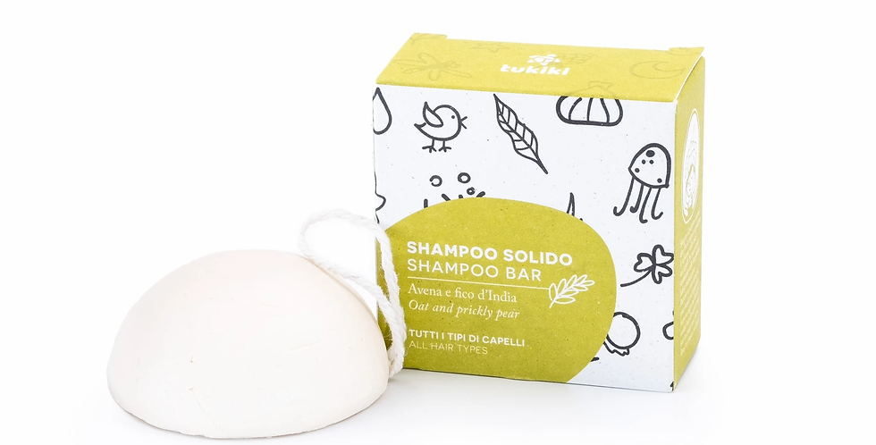 Shampoo Solido Avena e Ficodindia