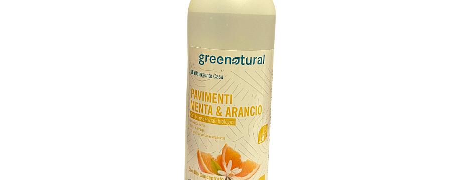 Detergente Lavapavimenti Menta e Arancio - 500 ml