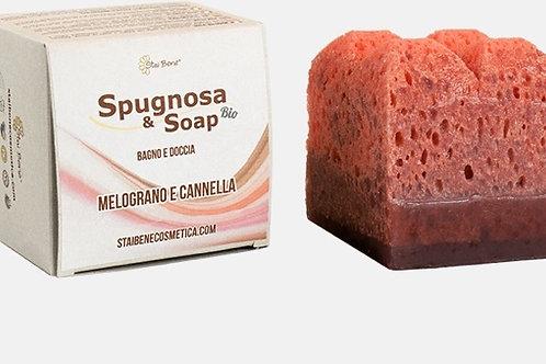 Spugnosa & Soap Bio - Melograno e Cannella - Speziato