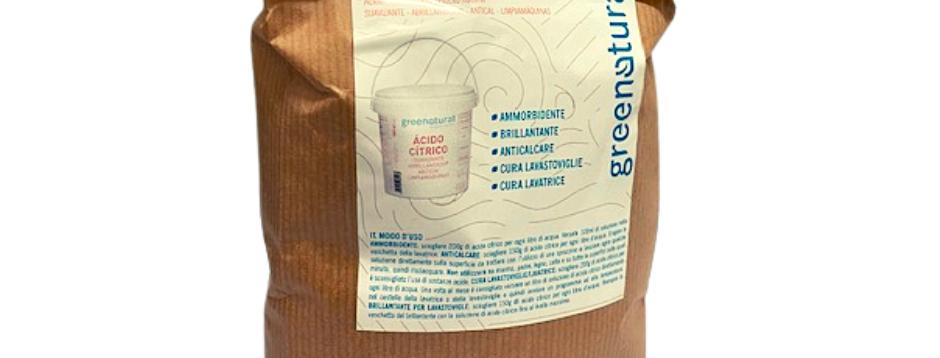 Acido Citrico in Busta - 1 Kg.